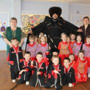 Сборник материалов по работе с группой казачьей направленности в детском саду