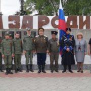 Казачий автопробег в преддверии Дня Победы прошел в Михайловске и Шпаковском районе