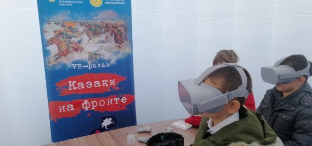 На экскурсии в Мультимедийном музее Терского казачества побывали жители села Заветного