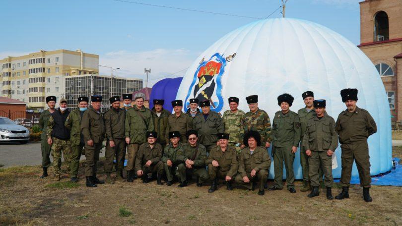 Центральное районное казачье общество подвело итоги работы за год и четыре месяца
