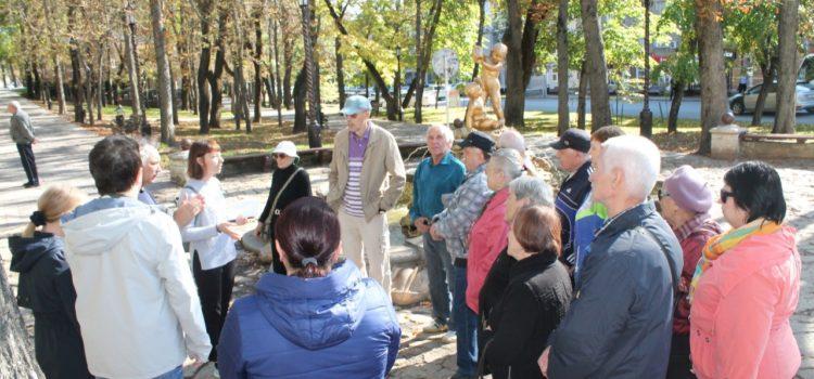Центральное районное казачье общество готовит проект «Занимательное краеведение» для пенсионеров города Ставрополя