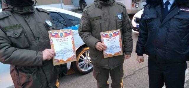 Казакам-дружинникам вручены почетные грамоты главного управления МВД РФ по Ставропольскому краю
