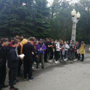 Студенты краевой столицы прошли маршрутом игры «Ставрополь и казачество в годы Великой Отечественной войны»